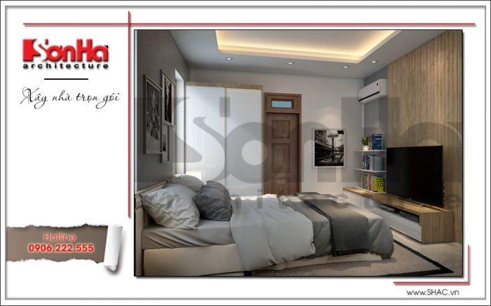 thiết kế và bố trí phòng ngủ đẹp tiện nghi năm 2018
