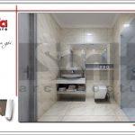 11 Thiết kế nội thất wc khách sạn tại vĩnh yên sh ks 0040