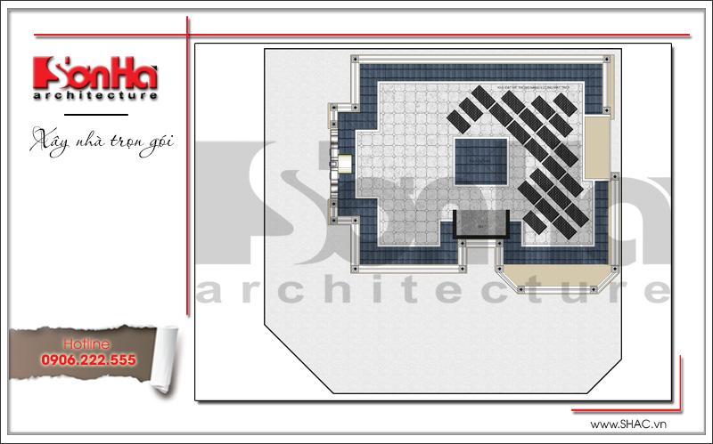 Mẫu thiết kế khách sạn kiến trúc Pháp tiêu chuẩn 4 sao sang trọng tại Vĩnh Yên – SH KS 0040 22