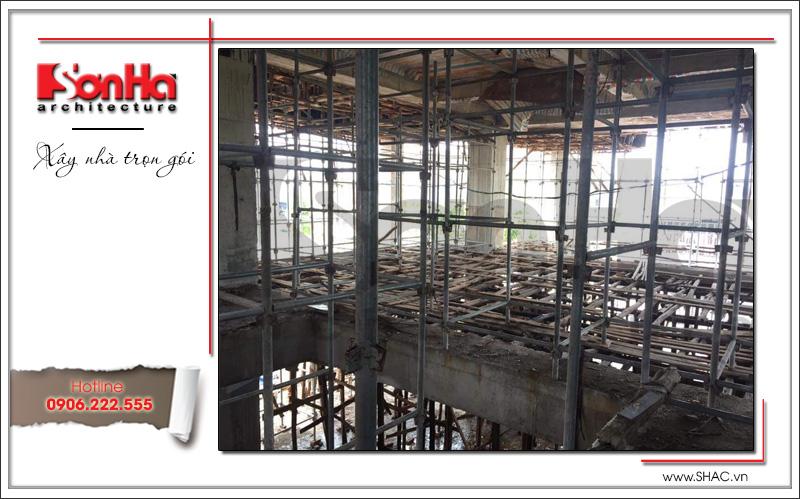 Mẫu thiết kế khách sạn kiến trúc Pháp tiêu chuẩn 4 sao sang trọng tại Vĩnh Yên – SH KS 0040 27