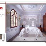 Mẫu Thiết kế nội thất phòng ngủ biệt thự lâu đài tại Hà Nội sh btld 0030