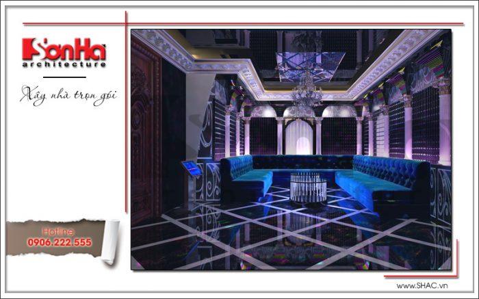Thiết kế phòng hát biệt thự lâu đài tại Hà Nội sh btld 0030