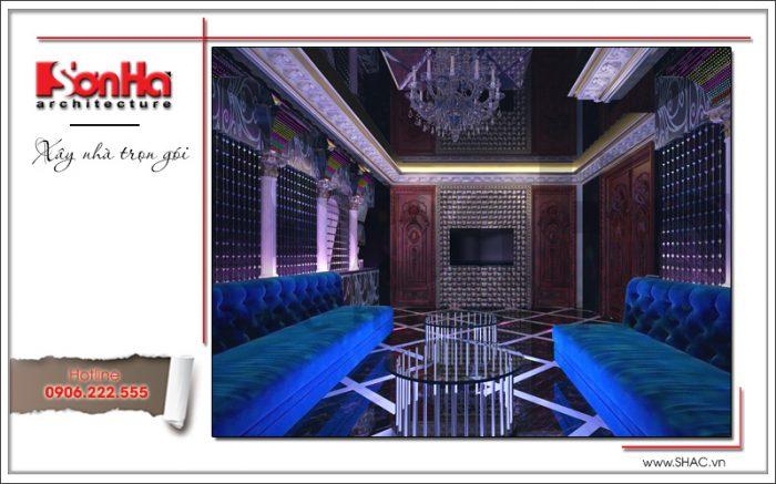 Mẫu thiết kế phòng hát biệt thự lâu đài tại Hà Nội sh btld 0030