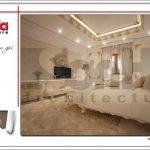 Thiết kế phòng ngủ 1 biệt thự cổ điển Pháp tại Quảng Ninh sh btp 0113