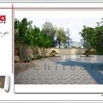 Mẫu Thiết kế sân vườn biệt thự lâu đài tại An Giang sh btld 0029