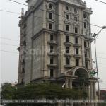 3 Ảnh thi công khách sạn pháp 9 tầng tại vĩnh phúc sh ks 0040