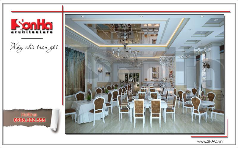 Mẫu thiết kế khách sạn kiến trúc Pháp tiêu chuẩn 4 sao sang trọng tại Vĩnh Yên – SH KS 0040 6