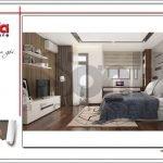 Mẫu thiết kế phòng ngủ bố mẹ biệt thự hiện đại tại Lạng Sơn sh btd 0060