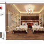 6 Mẫu nội thất phòng ngủ khách sạn tại vĩnh yên sh ks 0040