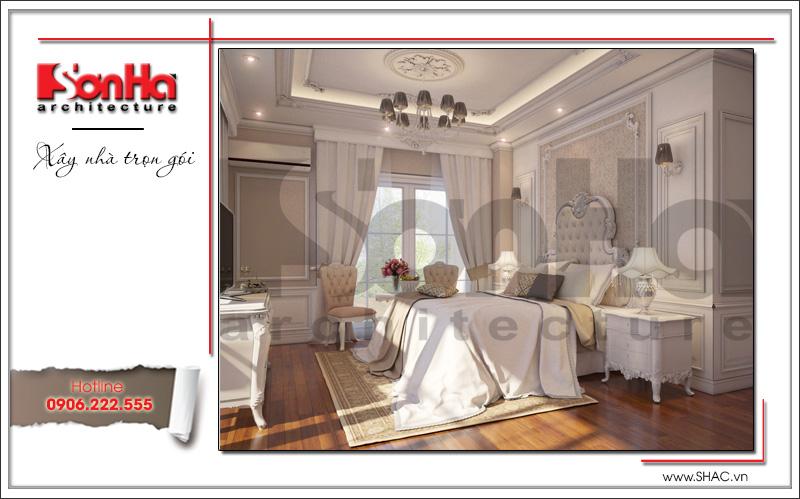nội thất phòng ngủ kiểu cổ điển cao cấp tại hà nội
