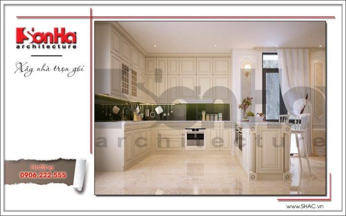 thiết kế nội thất phòng ăn khu chung cư cao cấp