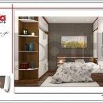 Mẫu nội thất phòng ngủ biệt thự hiện đại tại Lạng Sơn sh btd 0060