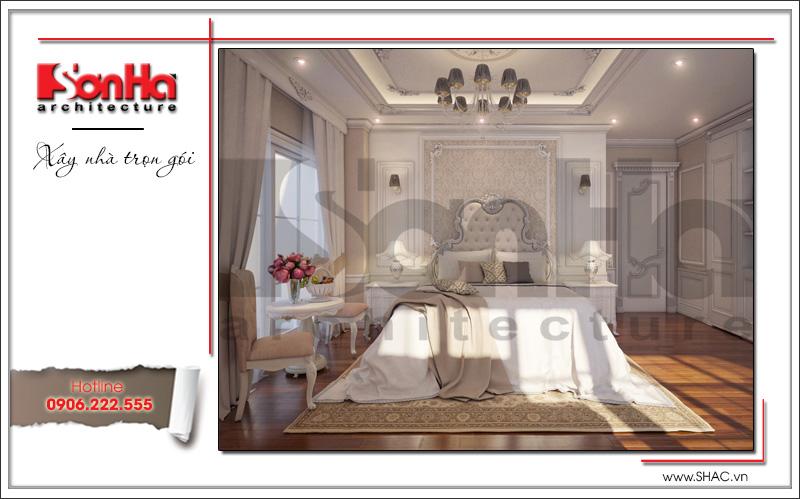 mẫu nội thất phòng ngủ căn hộ cao cấp tại hà nội