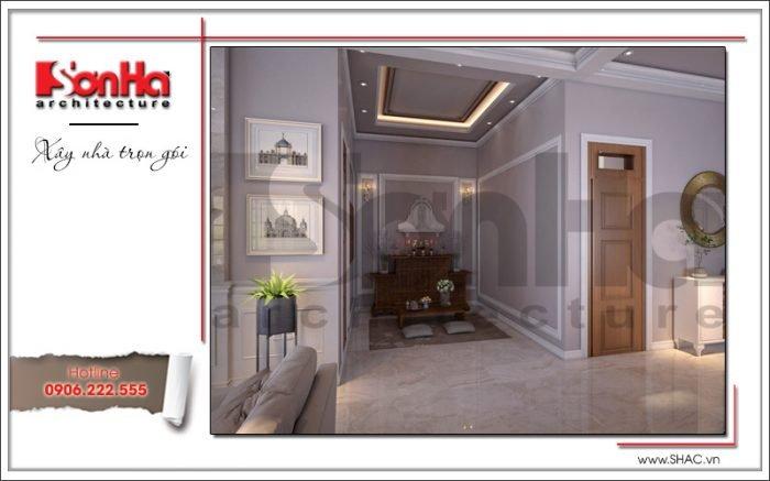 Thiết kế phòng thờ biệt thự vườn tại Hải Phòng sh btp 0114
