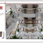 9 Thiết kế nội thất sảnh khách sạn tại vĩnh yên sh ks 0040