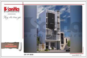 BÌA Thiết kế tòa nhà văn phòng tại Hà Nội sh vp 0030