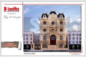 BÌA Mẫu Thiết kế kiến trúc biệt thự lâu đài tại Hà Nội sh btld 0030