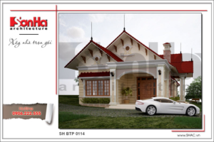 BÌA Thiết kế kiến trúc biệt thự vườn tại Hải Phòng sh btp 0114