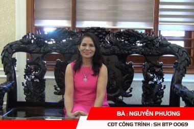 Phát biểu của CĐT Nguyễn Phương - Biệt thự cổ điển 3 tầng tại Quảng Bình 2
