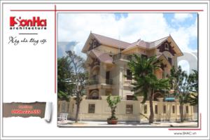 Không gian nhà đẹp số 6 - Biệt thự cổ điển xa hoa tại Quảng Bình 7