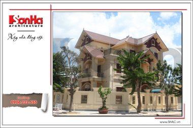 Không gian nhà đẹp số 6 - Biệt thự cổ điển xa hoa tại Quảng Bình 4