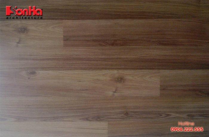 Mẫu sàn gỗ được yêu thích sử dụng trong thi công nội thất phong cách hiện đại