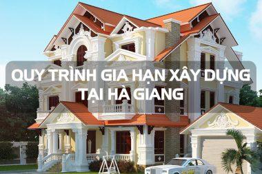 Quy định điều chỉnh, gia hạn hoặc cấp lại giấy phép xây dựng tại Hà Giang 7