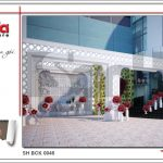Thiết kế nội thất trung tâm tiệc cưới phong cách cổ điển tại Hải Phòng sh bck 0046