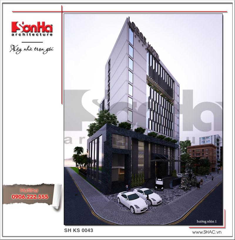 Mẫu khách sạn hiện đại đẹp thiết kế tiêu chuẩn 4 sao tại Phú Quốc (Kiên Giang) - SH KS 0043 1