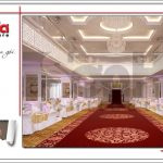 Mẫu Thiết kế tầng 5 trung tâm tiệc cưới phong cách cổ điển tại Hải Phòng sh bck 0046