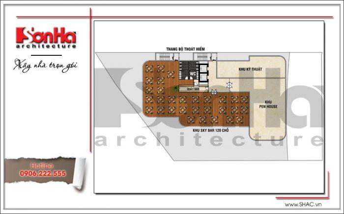 11 mặt bằng công năng tầng 10 khách sạn tại phú quốc sh ks 0043