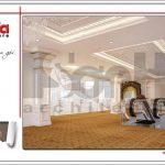 Mẫu nội thất sảnh tầng 4 trung tâm tiệc cưới phong cách cổ điển tại Hải Phòng sh bck 0046