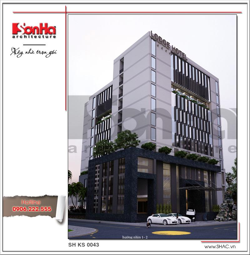 Mẫu khách sạn hiện đại đẹp thiết kế tiêu chuẩn 4 sao tại Phú Quốc (Kiên Giang) - SH KS 0043 2