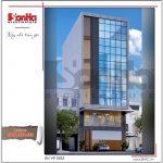 Thiết kế tòa nhà văn phòng tại Hải Phòng sh vp 0032