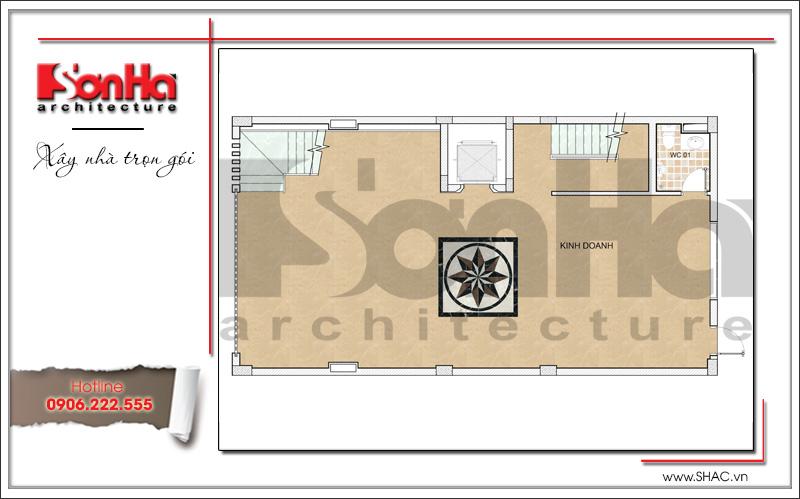 Mẫu thiết kế tòa nhà văn phòng hiện đại nội thất đẹp tại Hải Phòng – SH VP 0032 4