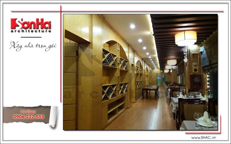 Thiết kế nội thất nhà hàng tiệc cưới phong cách cổ điển tại TD Plaza Hải Phòng - BCK 0046 20