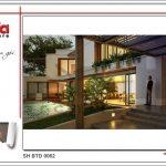 4 Mẫu kiến trúc biệt thự hiện đại tại Lào sh btd 0062