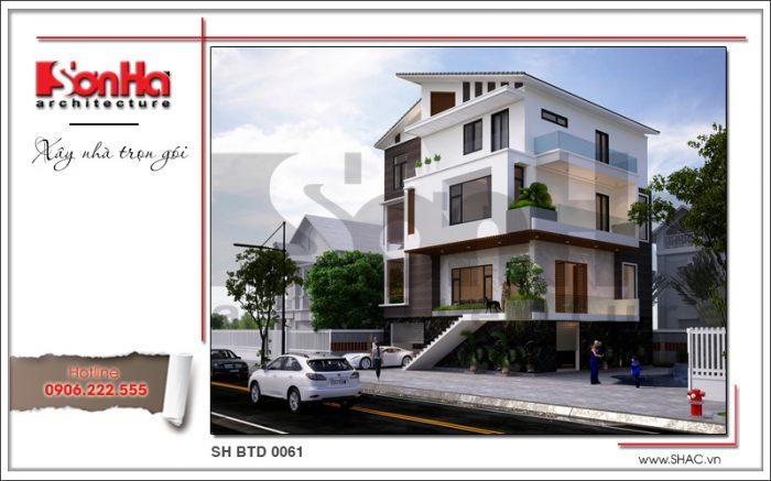 Thiết kế kiến trúc phương án 1 biệt thự hiện đại tai thanh hóa sh btd 0061 (1)