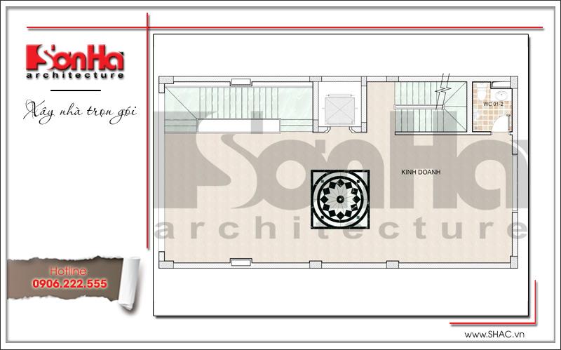 Mẫu thiết kế tòa nhà văn phòng hiện đại nội thất đẹp tại Hải Phòng – SH VP 0032 5