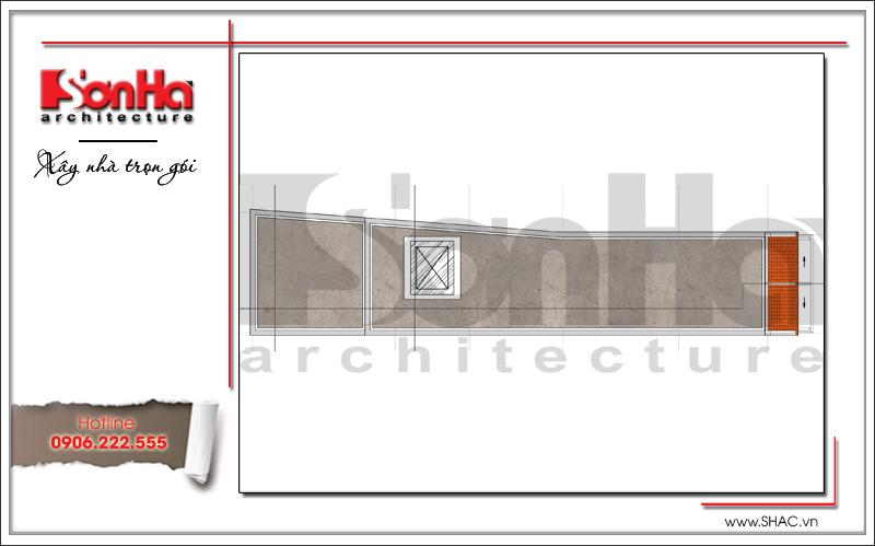 Mẫu thiết kế nhà phố kiến trúc cổ điển mặt tiền 5m tại Hải Dương - SH NOP 0151 10