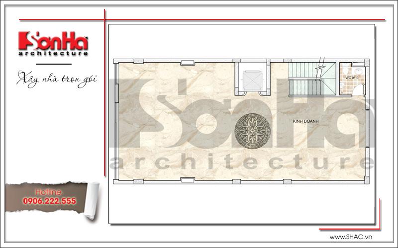 Mẫu thiết kế tòa nhà văn phòng hiện đại nội thất đẹp tại Hải Phòng – SH VP 0032 6