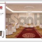 Thiết kế hội trường tầng 4 trung tâm tiệc cưới phong cách cổ điển tại Hải Phòng sh bck 0046