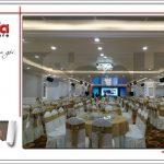 6 Ảnh thực tế nội thất hội trường trung tâm tiệc cưới tại hải phòng sh bck 0046