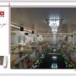7 Ảnh thực tế nội thất hội trường trung tâm tiệc cưới tại hải phòng sh bck 0046