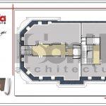 7 mặt bằng công năng tầng tum khách sạn cổ điển sang trọng sh ks 0042