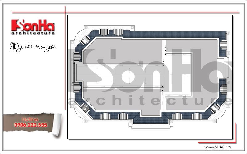 Mẫu thiết kế khách sạn cổ điển đẹp tiêu chuẩn 4 sao tại Quảng Ninh - SH KS 0042 8