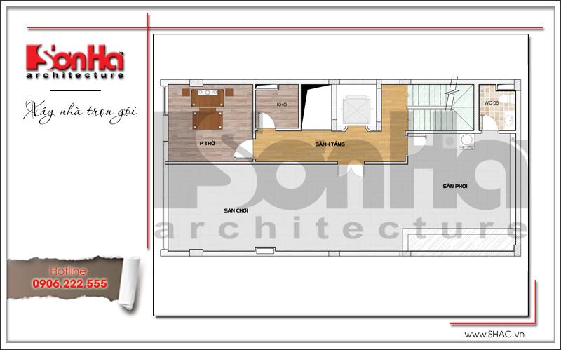 Mẫu thiết kế tòa nhà văn phòng hiện đại nội thất đẹp tại Hải Phòng – SH VP 0032 9