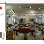 9 Ảnh thực tế nội thất hội trường trung tâm tiệc cưới tại hải phòng sh bck 0046