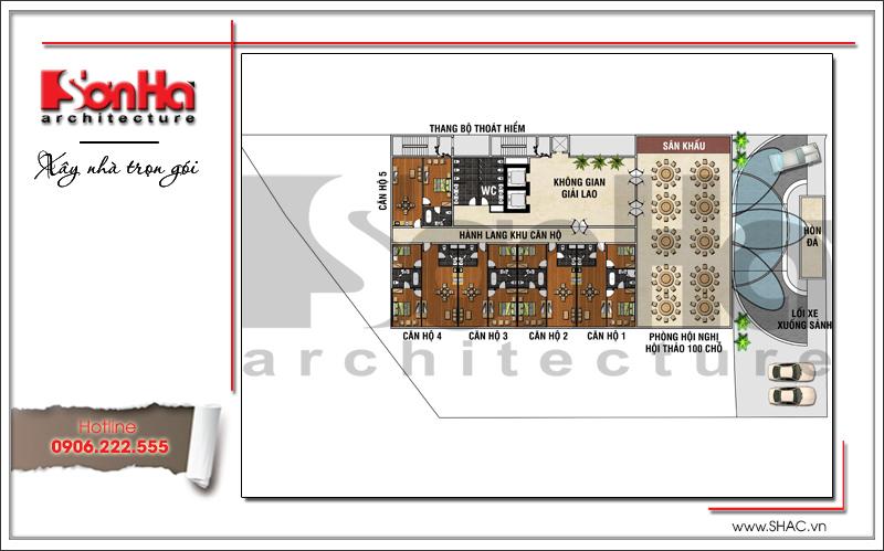 Mẫu khách sạn hiện đại đẹp thiết kế tiêu chuẩn 4 sao tại Phú Quốc (Kiên Giang) - SH KS 0043 9
