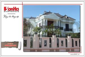 Không gian nhà đẹp số 7 - Biệt thự cổ điển phong cách châu Âu 2 tầng tại Quảng Bình 6